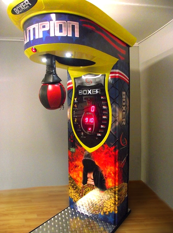Location punching ball arcade coups de poing