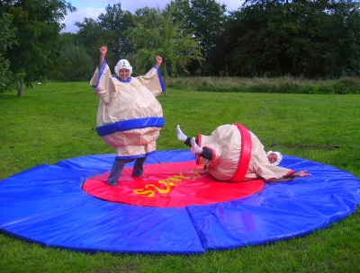 Sumo gonflables jourmagic
